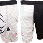 Fighting Short SG white leteral y espalda