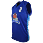 Uniforme basket esiiie lateral