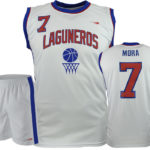 Uniforme basket laguneros blanco
