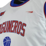Uniforme basket laguneros blanco zoom