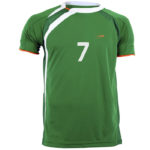 Uniforme soccer Bricklin frente