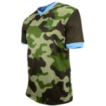 Uniforme soccer Camouflage lateral