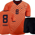 Uniforme soccer moon orange