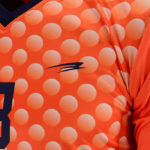 Uniforme soccer moon orange zoom