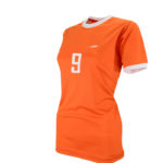 Uniforme soccer mujer parrot lateral