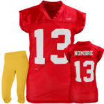 Uniforme tocho mujer 49ers