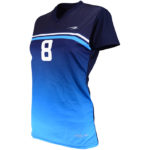 Uniforme volibol mujer Asteroid lateral